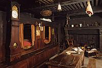 Europe/France/Auvergne/63/Puy-de-Dôme/Riom: Le musée régional de la Haute-Auvergne: Détail intérieur auvergnat