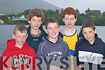 REGATTA: Anthony.Cournane, Noel Cournane,.Colin Quirke,.Patrick Cournane and.Jamie Cournane (all.Caherciveen) enjoying the.Caherciveen Regatta last.Saturday.