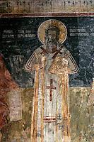 Small Uspenskaya church,(small church of Assumption),frescos,wall-paintings,Savina Monastery,near Herceg-Novi,Montenegro