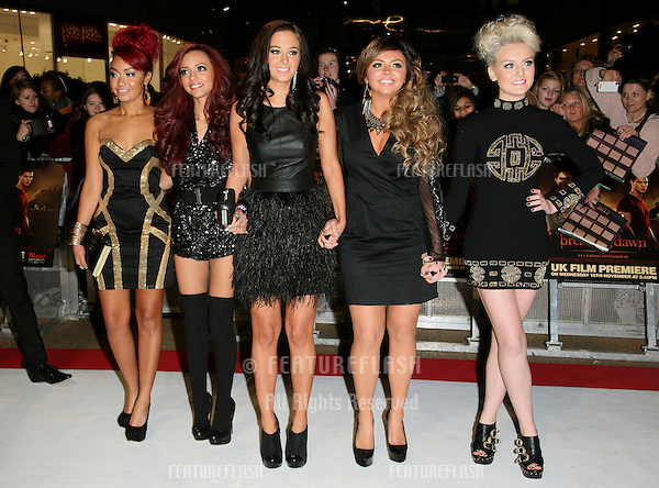 Tulisa Contostavlos and Little Mix arriving for the UK premiere of The Twilight Saga: Breaking Dawn Part 1 at Westfield Stratford City, London. 17/11/2011 Picture by: Alexandra Glen / Featureflash