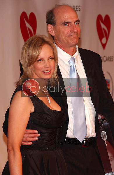 Caroline Smedvig and James Taylor<br />