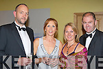 l-r: Eugene and Lily Ross with Barbara and Martin O Grady     all sat nite ball itt   Copyright Kerry's Eye 2008