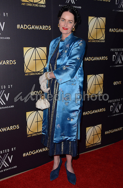 31 January  - Beverly Hills, Ca - Emma Fairley. Arrivals for the Art Director's Guild 20th Annual Production Design Awards held at Beverly Hilton Hotel. Studios. Photo Credit: Birdie Thompson/AdMedia