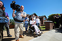 BBC's SOS Nick Knowles and team at the McCreight family home in Bangor, County Down, Thursday,  June 27th, 2019. (Photo by Paul McErlane for the Belfast Telegraph)