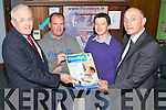 Pictured at the Bank of Ireland Show your business, during National Enterprise week were from left, Frank Shaw (Manager, Bank of Ireland), Alan O'Sullivan (FloodEye), Kieran O'Flaherty (FloodEye) and Thomas Hayes (Kerry County Enterprise Board).