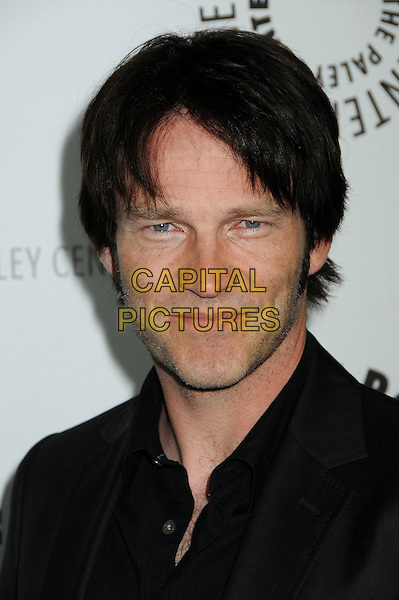 """STEPHEN MOYER.The 26th Annual William S. Paley Television Festival presents """"True Blood"""" held at Arclight Cinemas, Hollywood, California, USA..April 13th, 2009.headshot portrait black .CAP/ADM/BP.©Byron Purvis/AdMedia/Capital Pictures."""