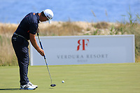 Steve Webster (ENG) during the third round of the Rocco Forte Sicilian Open played at Verdura Resort, Agrigento, Sicily, Italy 12/05/2018.<br /> Picture: Golffile   Phil Inglis<br /> <br /> <br /> All photo usage must carry mandatory copyright credit (&copy; Golffile   Phil Inglis)