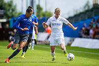 Stephen Kingsley of Swansea City  in action during the Pre Season friendly match between Swansea City and Rovers played at the Memorial Stadium, Bristol on July 23rd 2016