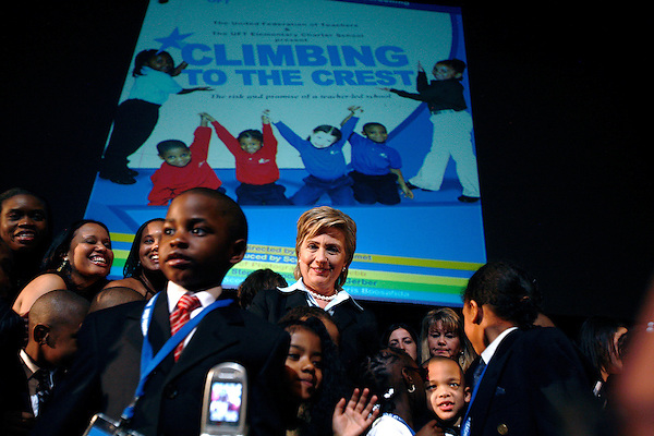 """Climbing to the Crest"" a documentary about the opening of the United Federation of Teachers Elementary Charter School was premiered at the Tribeca Film Festival. Noted politicians were on hand to show their support for the project and groundbreaking moment for the NY public school system."