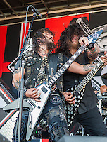 Machine Head at Mayhem Fest 2013 in Atlanta, GA.