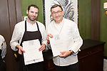 New York, NY - February 18, 2018: Chef Antoine Westermann and his team from Le Coq Rico present dinner at the James Beard House in Greenwich Village.<br /> <br /> CREDIT: Clay Williams for The James Beard Foundation.<br /> <br /> &copy;Clay Williams / http://claywilliamsphoto.com