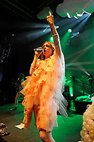 LONDON, ENGLAND - AUGUST 9: Kate Nash performing at Shepherd's Bush Empire on August 9, 2017 in London, England.<br /> CAP/MAR<br /> &copy;MAR/Capital Pictures