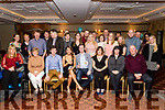 Helena Brosnan, Kilmoyley and David Heaslip, Tralee both celebrated their 30th birthday last Saturday night in the Meadowlands hotel, Tralee along with family and friends.