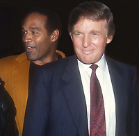 Donald Trump OJ Simpson 1993<br /> Photo By John Barrett/PHOTOlink