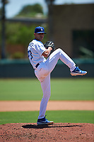AZL Dodgers Lasorda relief pitcher Gabe Benavides (73) during an Arizona League game against the AZL Royals on July 4, 2019 at Camelback Ranch in Glendale, Arizona. The AZL Royals defeated the AZL Dodgers Lasorda 4-1. (Zachary Lucy/Four Seam Images)