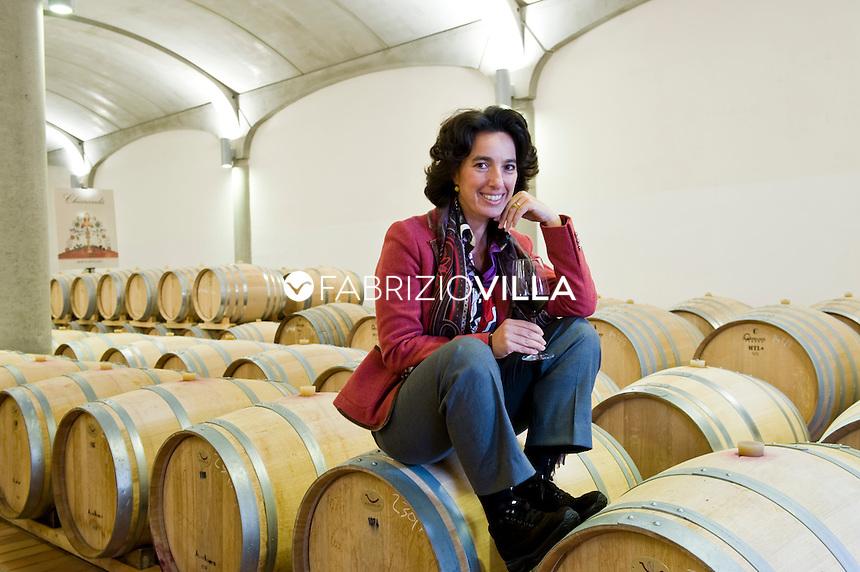 Marsala (TP) Josè Rallo direttore marketing Donna Fugata. Foto Fabrizio Villa