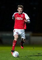 Fleetwood Town's Callum Connolly breaks<br /> <br /> Photographer Andrew Kearns/CameraSport<br /> <br /> The EFL Sky Bet League One - Wycombe Wanderers v Fleetwood Town - Tuesday 11th February 2020 - Adams Park - Wycombe<br /> <br /> World Copyright © 2020 CameraSport. All rights reserved. 43 Linden Ave. Countesthorpe. Leicester. England. LE8 5PG - Tel: +44 (0) 116 277 4147 - admin@camerasport.com - www.camerasport.com