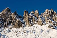 Oesterreich, Salzburger Land, bei Muehlbach: Winter am Hochkoenig (2.941 m) - Mandlwand | Austria, Salzburger Land, near Muehlbach: Winter at Hochkoenig mountains