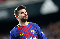 FC Barcelona's Gerard Pique during Spanish King's Cup Semi Final 2nd match. February 8,2018. (ALTERPHOTOS/Acero)