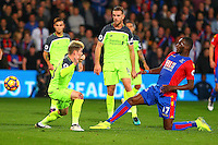 during the EPL - Premier League match between Crystal Palace and Liverpool at Selhurst Park, London, England on 29 October 2016. Photo by Steve McCarthy.