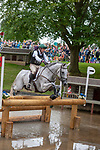 Stamford, Lincolnshire, United Kingdom, 7th September 2019, William Coleman (USA) riding Tight Lines during the Cross Country Phase on Day 3 of the 2019 Land Rover Burghley Horse Trials, Credit: Jonathan Clarke/JPC Images