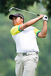 Nattavat Teepakornsukasem of Thailand tees off during the 2011 Faldo Series Asia Grand Final on the Faldo Course at Mission Hills Golf Club in Shenzhen, China. Photo by Raf Sanchez / Faldo Series