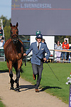 Stamford, Lincolnshire, United Kingdom, 8th September 2019, Ludwig Svennerstal (SWE) & Stinger during the 2nd Horse Inspection of the 2019 Land Rover Burghley Horse Trials, Credit: Jonathan Clarke/JPC Images