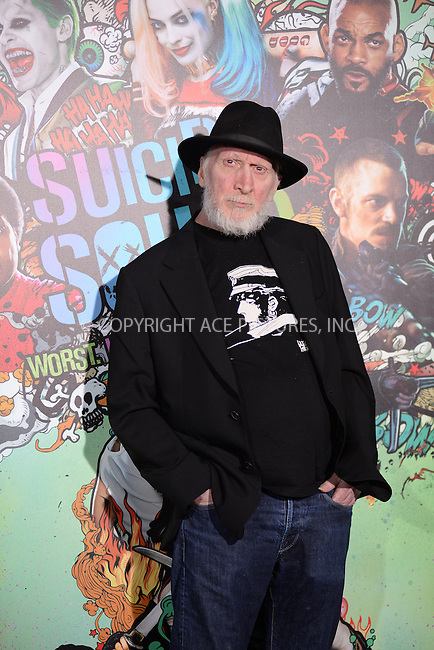 www.acepixs.com<br /> August 1, 2016  New York City<br /> <br /> Frank Miller attending the world premiere of Warner Bros. Pictures and Atlas Entertainment&rsquo;s 'Suicide Squad' at the Beacon Theatre on August 1, 2016 in New York City.<br /> <br /> <br /> Credit: Kristin Callahan/ACE Pictures<br /> <br /> <br /> Tel: 646 769 0430<br /> Email: info@acepixs.com