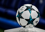 The 2017/18 champions league ball during the champions league match at Stamford Bridge Stadium, London. Picture date 12th September 2017. Picture credit should read: David Klein/Sportimage