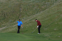 Peter Sheehan (Ballybunion) on the 16th during the Munster Final of the AIG Senior Cup at Tralee Golf Club, Tralee, Co Kerry. 12/08/2017<br /> Picture: Golffile | Thos Caffrey<br /> <br /> <br /> All photo usage must carry mandatory copyright credit     (&copy; Golffile | Thos Caffrey)