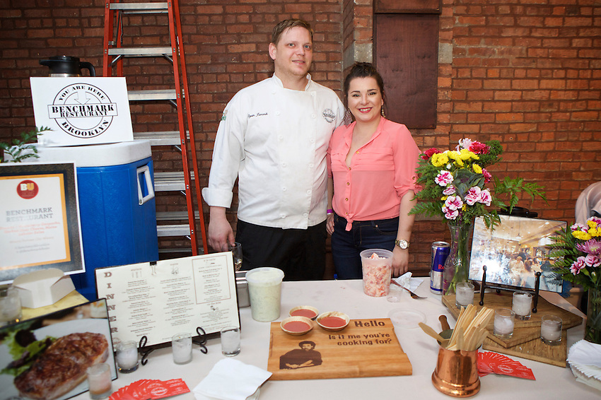 New York, NY - May 26, 2016: Scenes from the tenth annual Brooklyn Uncorked, hosted by Edible Brooklyn at 26 Bridge in Dumbo.<br /> <br /> CREDIT: Clay Williams for Edible Brooklyn.<br /> <br /> &copy; Clay Williams / claywilliamsphoto.com