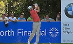 Padraig Harrington tees off on the 16th hole during Round 3 of the BMW PGA Championship at  Wentworth, Surrey, England, 22nd May 2010...Photo Golffile/Eoin Clarke.(Photo credit should read Eoin Clarke www.golffile.ie)....This Picture has been sent you under the condtions enclosed by:.Newsfile Ltd..The Studio,.Millmount Abbey,.Drogheda,.Co Meath..Ireland..Tel: +353(0)41-9871240.Fax: +353(0)41-9871260.GSM: +353(0)86-2500958.email: pictures@newsfile.ie.www.newsfile.ie.