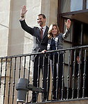 Prince and Princess of Asturias visited Miranda de Ebro  Council, on October 6th 2010, Burgos, Spain..Photo: Acero / ALFAQUI