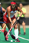 02 October 2016: Boston's Allie Renzi. The Duke University Blue Devils hosted the Boston University Terriers at Jack Katz Stadium in Durham, North Carolina in a 2016 NCAA Division I Field Hockey match. Duke won the game 2-1.