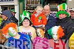 Enjoying the Killarney St Patricks Day parade on Sunday was Denis Cremin, Emma Alfonsa, Daniel Cremin. Back row: Chloe O'Sullivan, Donal and Eoghan Cemin  with John O'Sullivan..