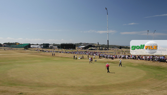 picturesque views  of Muirfield during round two of  The 142th Open Championship Muirfield, Gullane, East Lothian, Scotland 19/7/2013<br /> Picture Fran Caffrey www.golffile.ie: