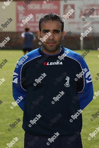 2007-07-22 / Voetbal / Verbroedering Hemiksem / Lahcen Ennassiri