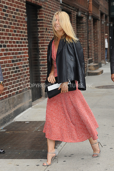 WWW.ACEPIXS.COM<br /> October 1, 2015 New York City<br /> <br /> Claire Danes arriving to tape an appearance on 'The Late Show With Stephen Colbert' on October 1, 2015 in New York City.<br /> <br /> Credit: Kristin Callahan/ACE <br /> <br /> Tel: (646) 769 0430<br /> e-mail: info@acepixs.com<br /> web: http://www.acepixs.com