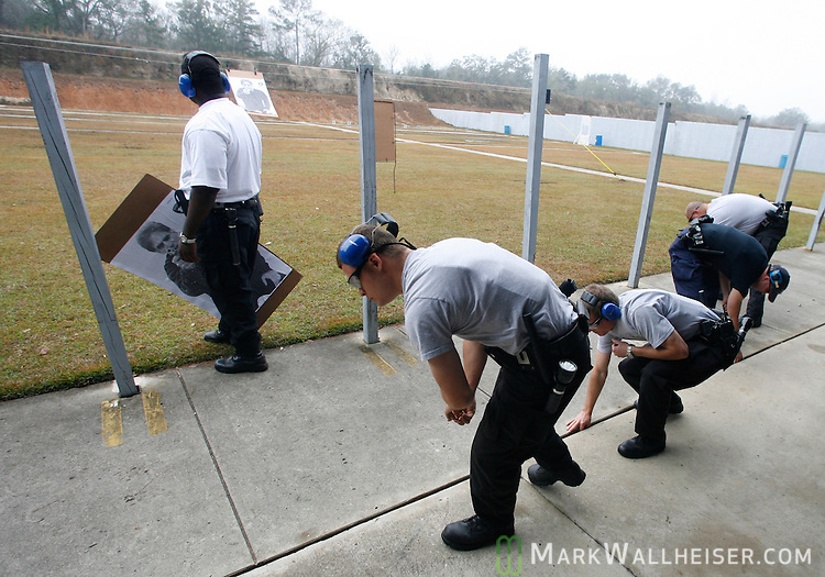 Tallahassee Police Department firearms training at Pat
