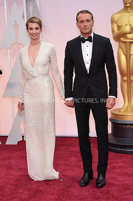 WWW.ACEPIXS.COM<br /> <br /> February 22 2015, LA<br /> <br /> Faith Hill and Tim Mcgraw arriving at the 87th Annual Academy Awards at the Hollywood &amp; Highland Center on February 22, 2015 in Hollywood, California.<br /> <br /> By Line: Z15/ACE Pictures<br /> <br /> <br /> ACE Pictures, Inc.<br /> tel: 646 769 0430<br /> Email: info@acepixs.com<br /> www.acepixs.com