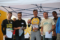 """Team OPEL """"Ohne Panne einfach Laufen"""", Sieger Herrenteams - 4. OPEL Firmenlauf, Stadion am Sommerdamm"""