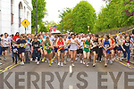 Runners at the start of the Killarney Lions Club 10km mini marathon on Sunday