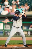 Charlotte left fielder Casey Rogowski (45) at bat versus Louisville at Louisville Slugger Field in Louisville, KY, Tuesday, June 5, 2007.