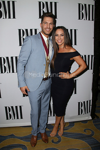 BEVERLY HILLS, CA - MAY 10: Aijia Lise, Andy Grammer attends the 64th Annual BMI Pop Awards held at the Beverly Wilshire Four Seasons Hotel on May 10, 2016 in Beverly Hills, California.Credit: AMP/MediaPunch.