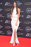 Kendall Rae Knight at the Grand Prix Ball at the Hurlingham Club, London on July 4th 2018<br /> CAP/ROS<br /> &copy;ROS/Capital Pictures