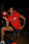 One Life To Live's Kearran Giovanni at the Daytime Stars and Strikes Charity Event to benefit the American Cancer Society at the Bowlmore Lanes, New York City, New York. (Photo by Sue Coflin/Max Photos)