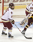 Tracy Johnson (BC - 5) - The University of Minnesota-Duluth Bulldogs defeated the Boston College Eagles 3-0 on Friday, November 27, 2009, at Conte Forum in Chestnut Hill, Massachusetts.
