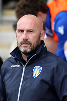 Colchester United manager John McGreal during Colchester United vs Mansfield Town, Sky Bet EFL League 2 Football at the Weston Homes Community Stadium on 7th October 2017