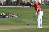Daan Huizing (NED) during the final round of the Ras Al Khaimah Challenge Tour Grand Final played at Al Hamra Golf Club, Ras Al Khaimah, UAE. 03/11/2018<br /> Picture: Golffile | Phil Inglis<br /> <br /> All photo usage must carry mandatory copyright credit (&copy; Golffile | Phil Inglis)