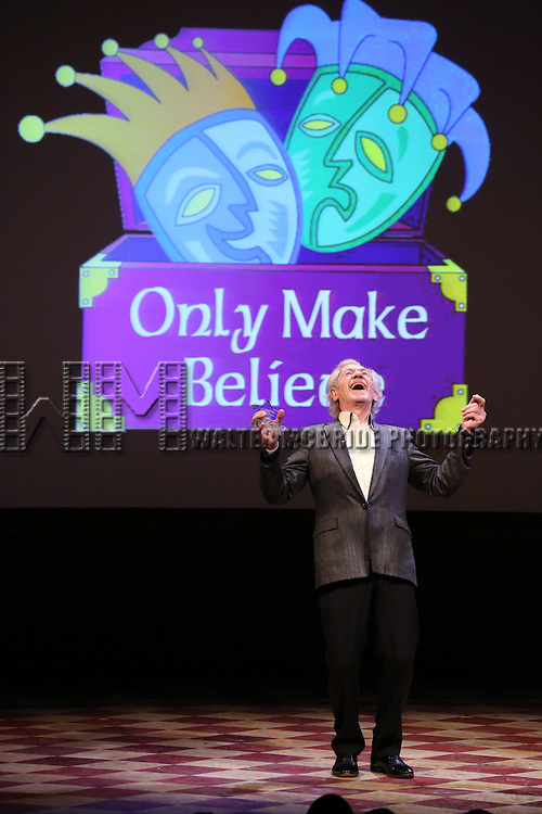 Sir Ian McKellen presents Award to Susan Sarandon at the 14th Annual 'Only Make Believe' Gala at the Bernard B. Jacobs Theatre on November 4, 2013  in New York City.